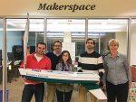 Pictures of the Endicott-MOTN-City of Gloucester team miniboat