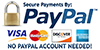 Secure Payment with PayPal!