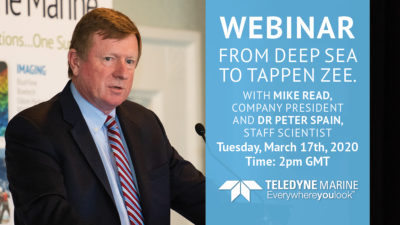 From Deep Sea to Tappen Zee – A Broad Array of Solutions from Teledyne Marine