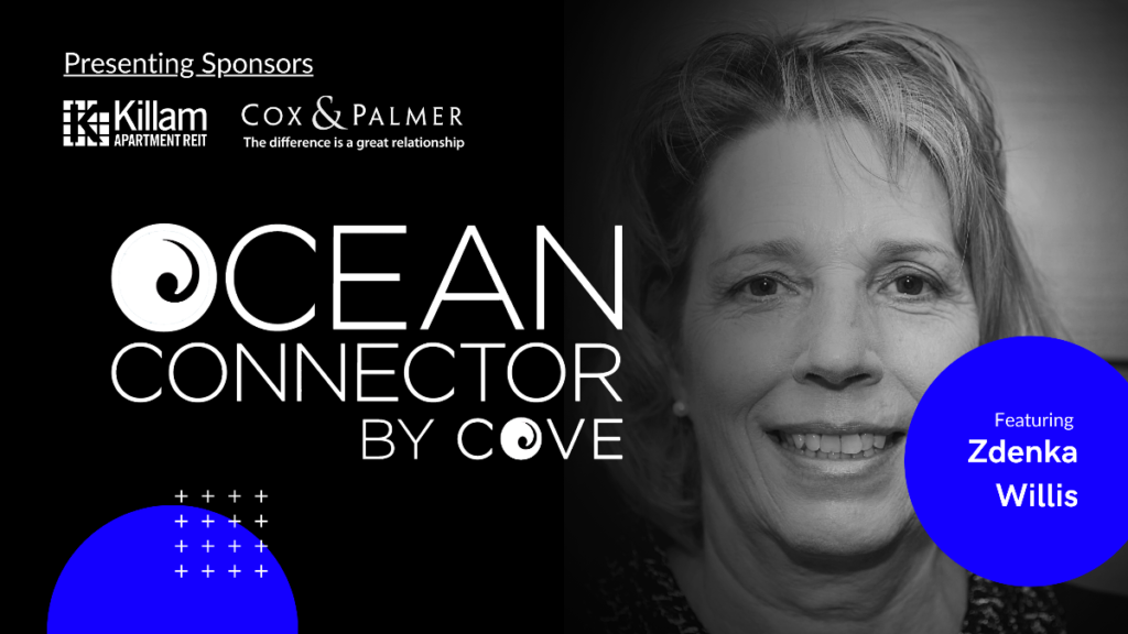 Zdenka Willis, President of the Marine Technology Society, joins this month's Ocean Connector @ Zoom Webinar