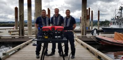 SEAMOR's Chinook ROV for police dive team